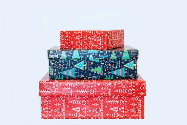 Geschenkdozen voor het nieuwe jaar