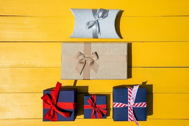 Geschenkenpiramide van verschillende grootte