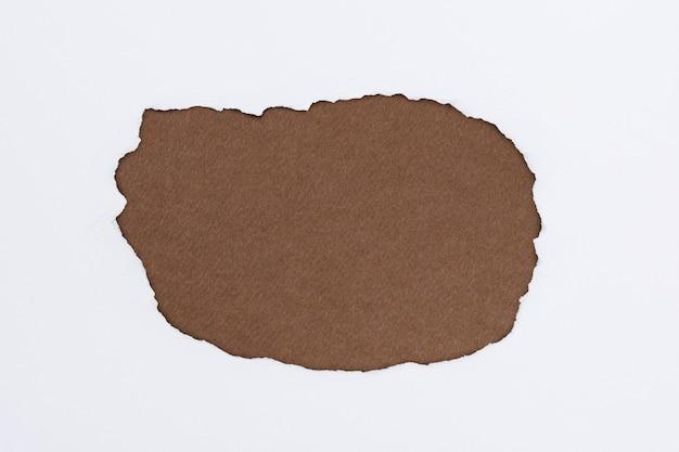 Gescheurd bruin papier ambachtelijke frame diy aarde toon achtergrond