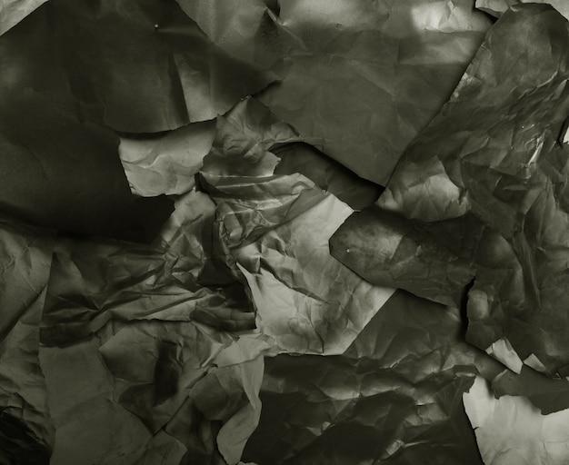 Gescheurd gekleurd papier, textuur, achtergrond, kunst