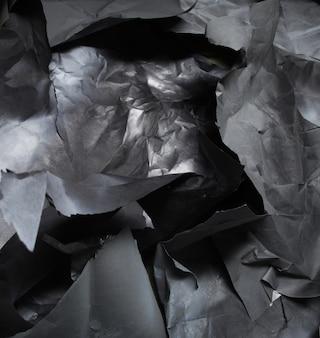 Gescheurd gekleurd papier, textuur, achtergrond