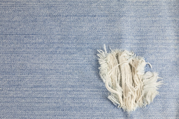 Gescheurde denim jeanstextuur