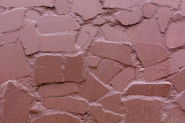 Geschilderde stenen muur textuur achtergrond