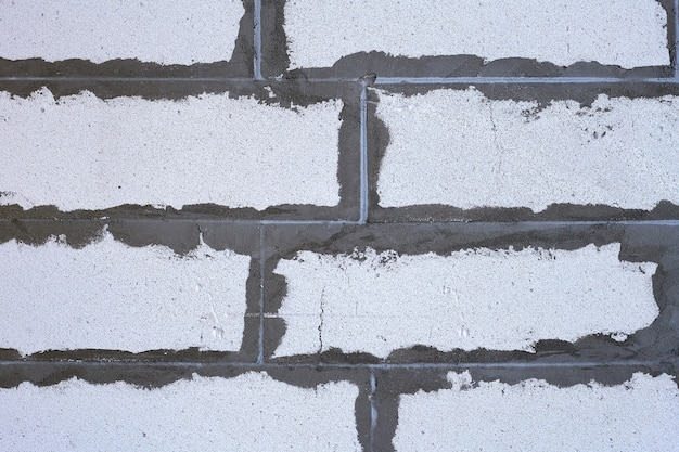 Geschuimd beton blok patroon achtergrond