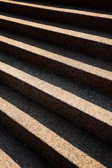 Gesimuleerde zandstenen trappen