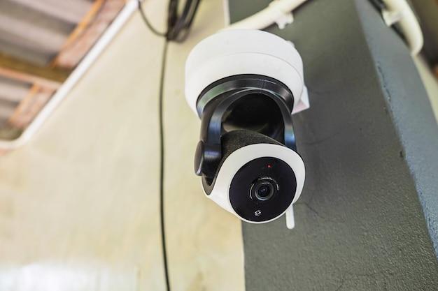 Gesloten circuit camerasysteem cctv video-opname voorkomen stelen detecteren