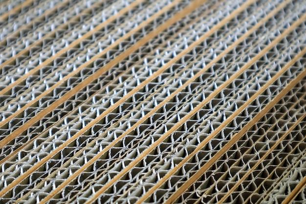 Gesloten detail van golfdocument vakje textuur, diagonaal patroon, selectieve nadruk