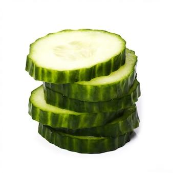 Gesneden komkommer