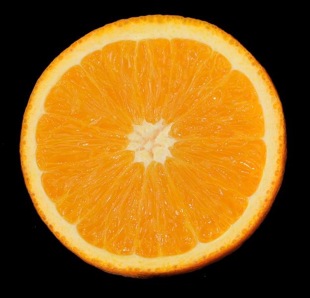 Gesneden sinaasappel