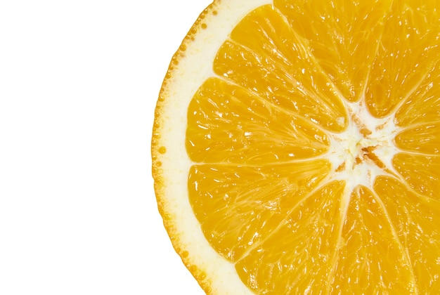 Gesneden van sappige sinaasappel close-up