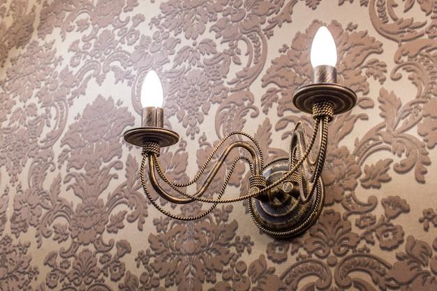 Gestileerde antieke lamp