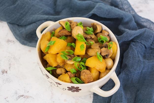Gestoofde aardappelen