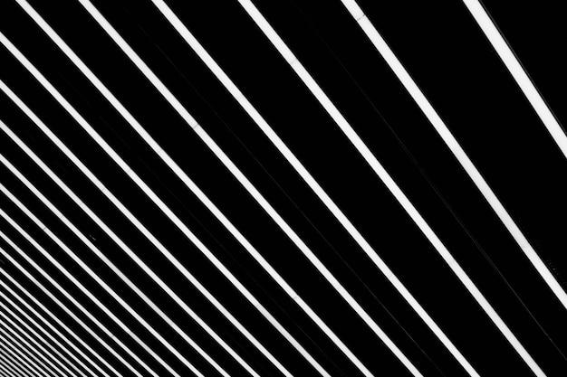 Gestreept zwart-wit oppervlak - goed voor een