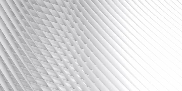 Gestreepte abstracte oppervlakteachtergrond. lichte abstracte gestructureerde technische achtergrond. 3d-rendering.