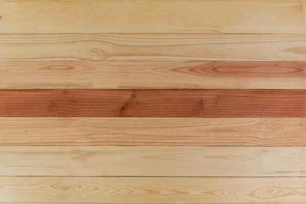 Gestreepte achtergrond en textuur van decoratief hout