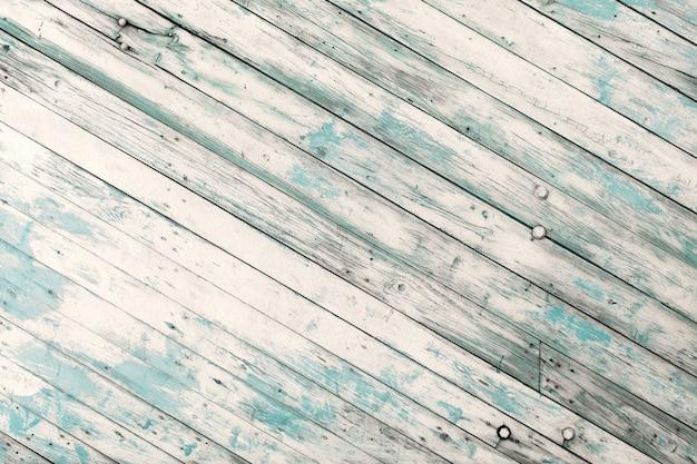 Gestripte blauwe beschadigde houten textuur