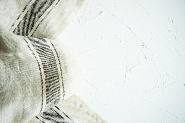 Gestripte vintage handdoek