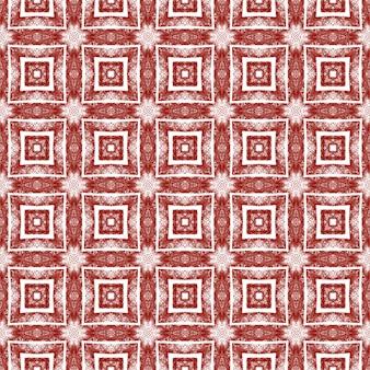 Gestructureerd strepenpatroon. kastanjebruine symmetrische caleidoscoopachtergrond. trendy getextureerd strepenontwerp. textiel klaar bewonderenswaardige print, badmode stof, behang, inwikkeling.