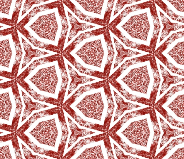 Gestructureerd strepenpatroon. kastanjebruine symmetrische caleidoscoopachtergrond. trendy getextureerd strepenontwerp. textiel klaar prachtige print, badmode stof, behang, inwikkeling.