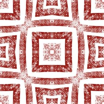 Gestructureerd strepenpatroon. wijn rode symmetrische caleidoscoop achtergrond. trendy getextureerd strepenontwerp. textiel klaar fijne print, badmode stof, behang, inwikkeling.