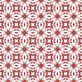 Gestructureerd strepenpatroon. wijn rode symmetrische caleidoscoop achtergrond. trendy getextureerd strepenontwerp. textiel klaar prachtige print, badmode stof, behang, inwikkeling.
