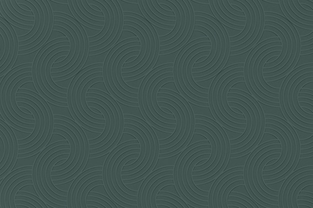 Gestructureerde achtergrond met groen halve cirkelpatroon