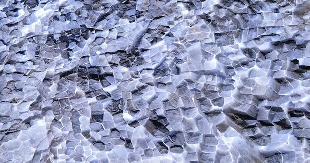 Getextureerd kristal natuurlijk landschap als achtergrond.