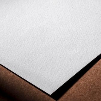 Getextureerde papieren close-up branding