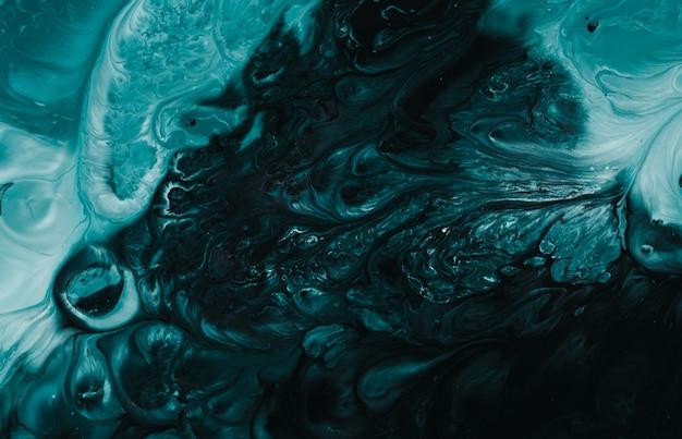 Getijdenwater groene kleur marmeren natuurlijke art patroon voor achtergrond, abstracte zwarte en paarse kleur