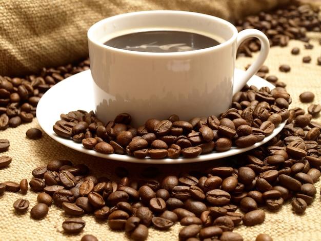 Geur van geurige koffie