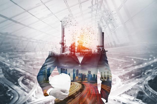 Gevaar voor luchtvervuiling door conventionele stroom