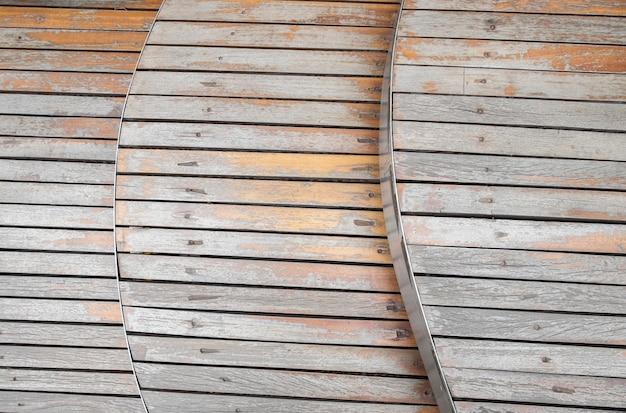 Gevormde houten achtergrond