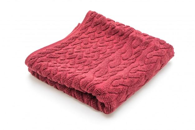 Gevouwen badhanddoeken geïsoleerd