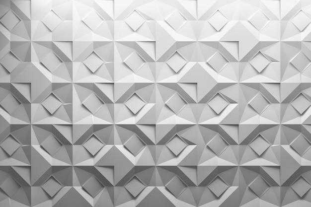 Gevouwen gesneden papier effect patroon