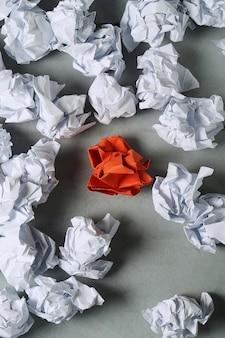 Gevouwen papier