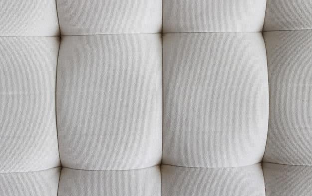 Gewatteerde kussen textuur achtergrond, gesloten, horizontaal