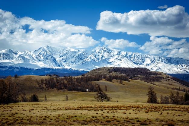Geweldig berglandschap.