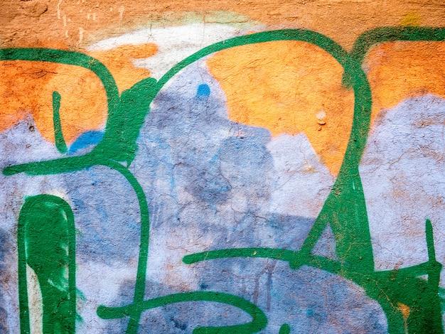 Geweldige graffitti details voor creatieve composities