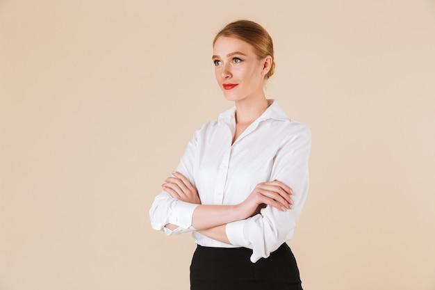 Geweldige jonge zakenvrouw