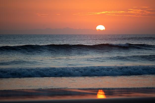 Geweldige zonsondergang.