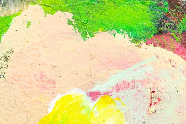 Geweven abstracte verfborstel voor achtergrond.