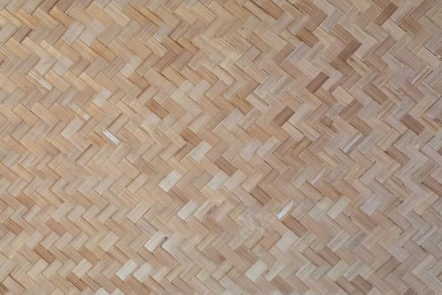 Geweven houten mandenmakerswerk