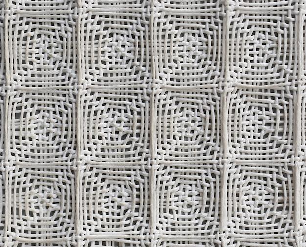 Geweven raster van papieren textiel