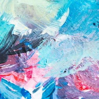 Geweven van romig penseelstreek abstract oppervlak