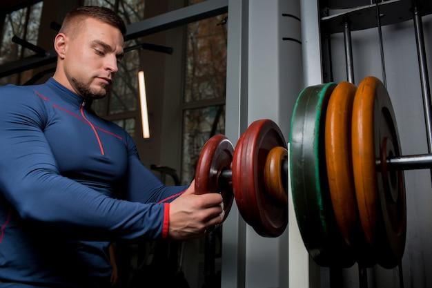 Gewichtheffen training