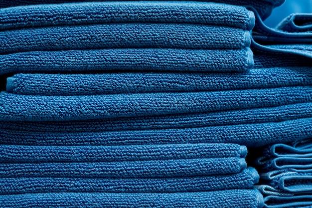 Gezellige blauwe, turquoise donzige textuur