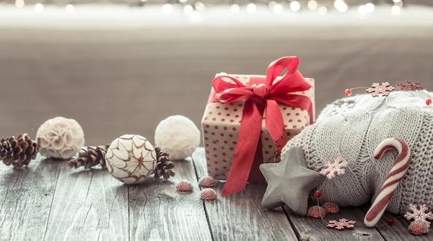 Gezellige kerstsamenstelling