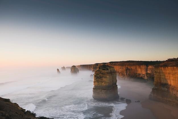Gezicht op de twaalf apostelen, australië