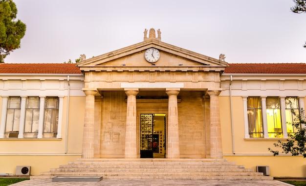 Gezicht op het stadhuis van paphos - cyprus