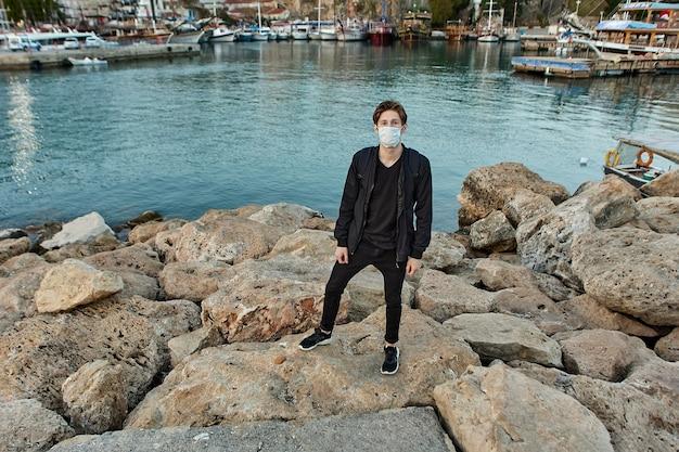 Gezichtsmasker als pbm als maatstaf voor bescherming tegen coronavirusinfectie in turkije